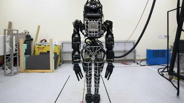 Boston-Dynamics-Roboter Atlas. Quelle: REUTERS