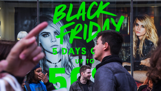 Black Friday in den USA. Quelle: Getty Images