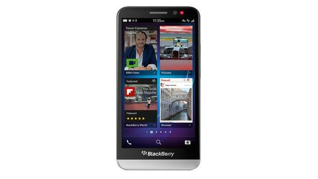 Blackberry Z 10 Quelle: Presse