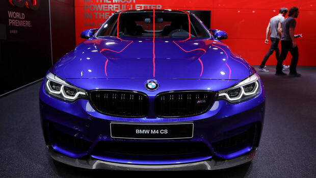 Ein BMW M4 CS Quelle: REUTERS