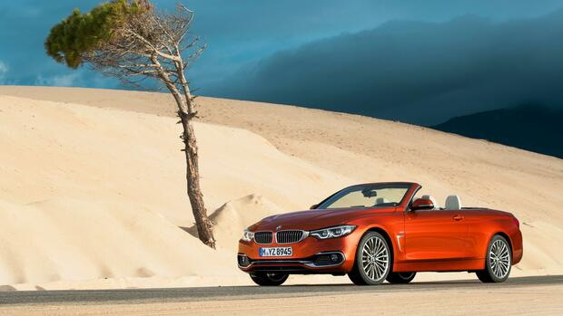BMW 4er Facelift Quelle: BMW