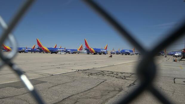 Boeing parkt 737 Max inzwischen auf den Mitarbeiterparkplätzen