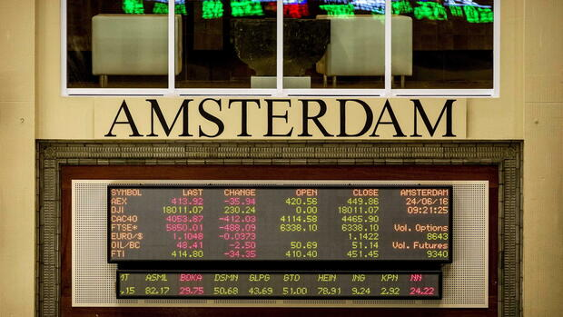 Börse Amsterdam Kurse