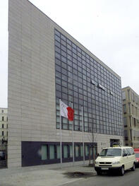 View of the new embassy of Malta in Berlin Quelle: AP