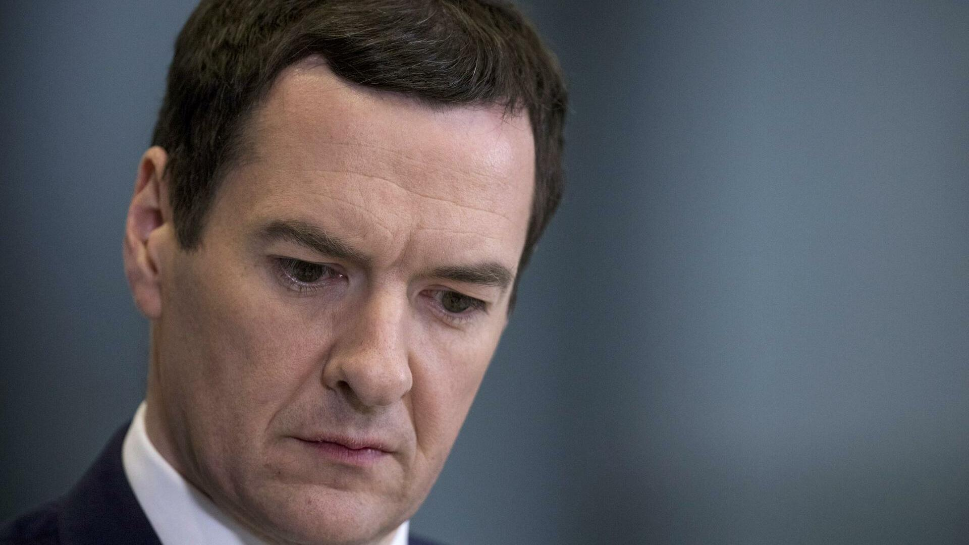 George Osborne Quelle: REUTERS