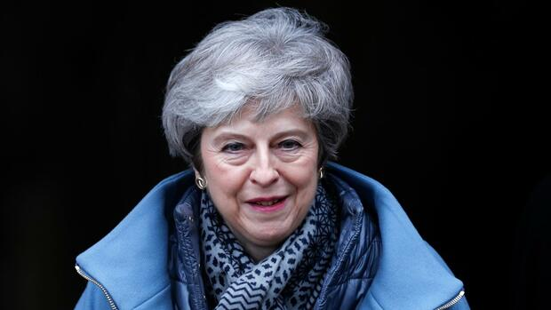 Theresa May Quelle: REUTERS