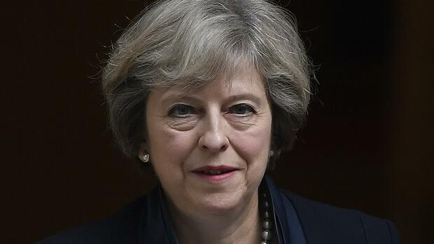 Theresa May. Quelle: REUTERS