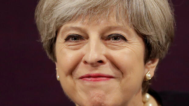 Großbritanniens Premierministerin Theresa May. Quelle: REUTERS