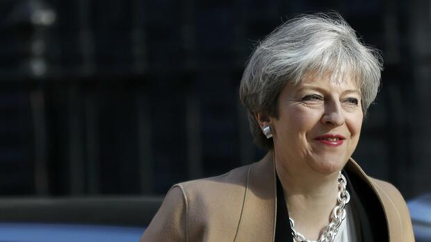 Theresa May, britische Premierministerin Quelle: REUTERS