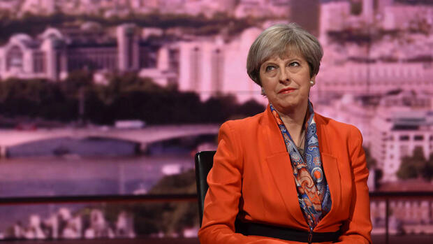 Die britische Premierministerin Theresa May Quelle: REUTERS