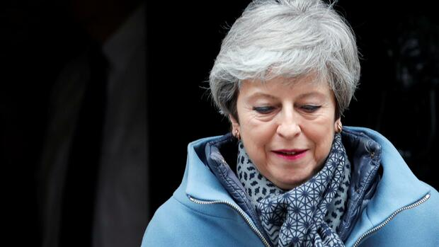 Großbritanniens Premierministerin Theresa May Quelle: REUTERS