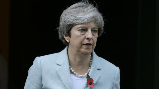 Theresa May Quelle: AP