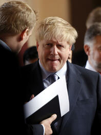 Boris Johnson Quelle: REUTERS