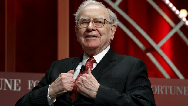 Platz 3: Warren Buffett mit 62 Milliarden Dollar Quelle: REUTERS
