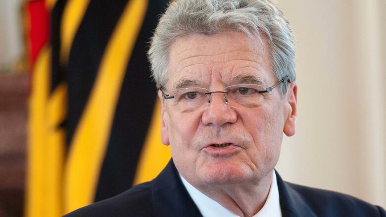 Gauck Bundespräsident 2012