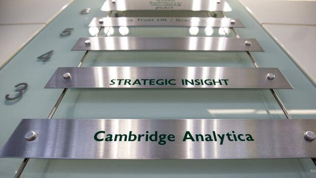 Cambridge Analytica Quelle: dpa