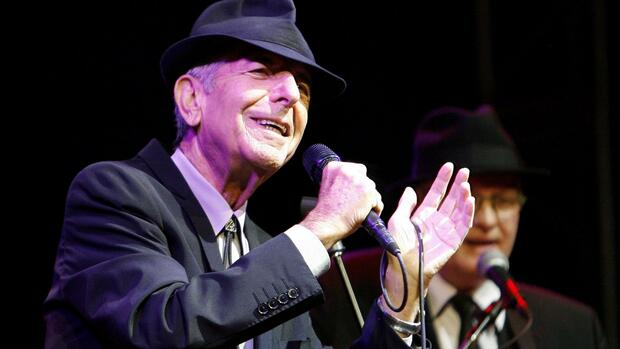 Leonard Cohen im April 2009 Quelle: REUTERS