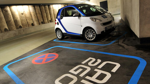 Car2go Quelle: dpa