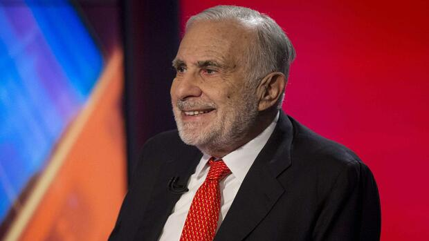 US-Investor Carl Icahn. Quelle: REUTERS