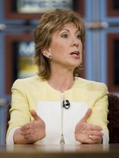 Carly Fiorina, economic Quelle: Meet The Press