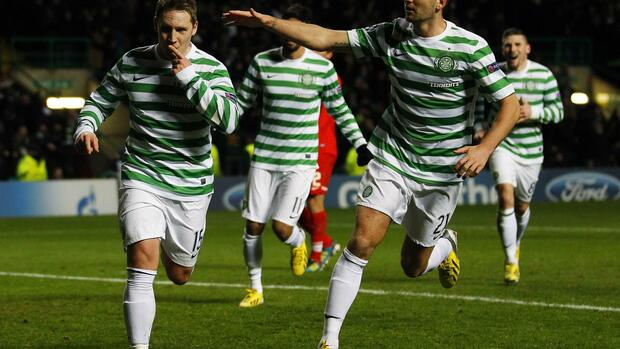 Celtic Glasgow Quelle: REUTERS