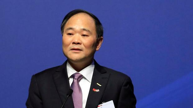 Geely-Chef Li Shufu Quelle: REUTERS