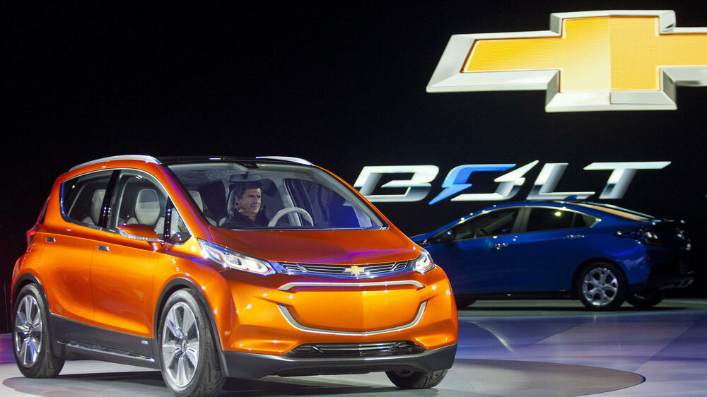 Chevrolet Bolt Quelle: AP