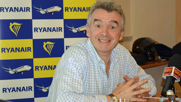 Michael O´Leary Quelle: dpa