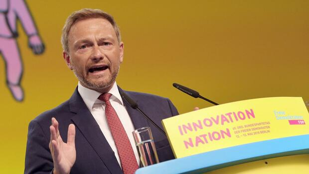 FDP-Chef Christian Lindner. Quelle: dpa