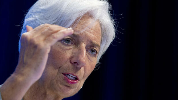 Christine Lagarde Quelle: AP