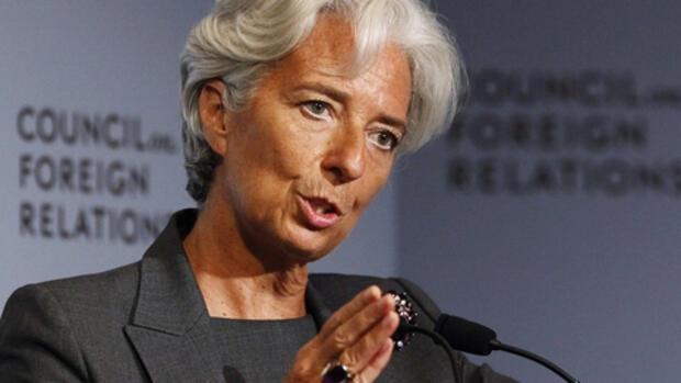 Christine Lagarde Quelle: Reuters