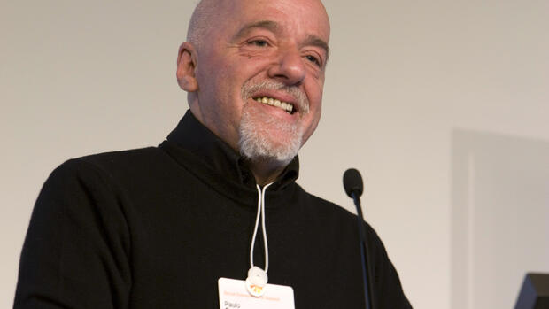 Paulo Coelho Quelle: World Economic Forum - swiss-image.ch/Remy Steinegger