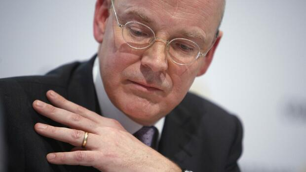 Martin Blessing, Commerzbank-Chef Quelle: REUTERS