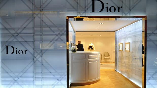 Dior bei der Messe in Basel Quelle: AP