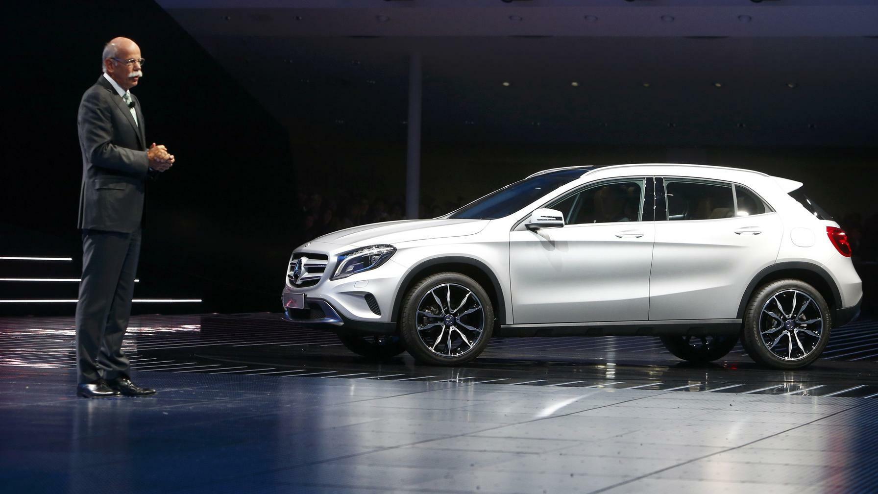 Mercedes GLA Quelle: REUTERS