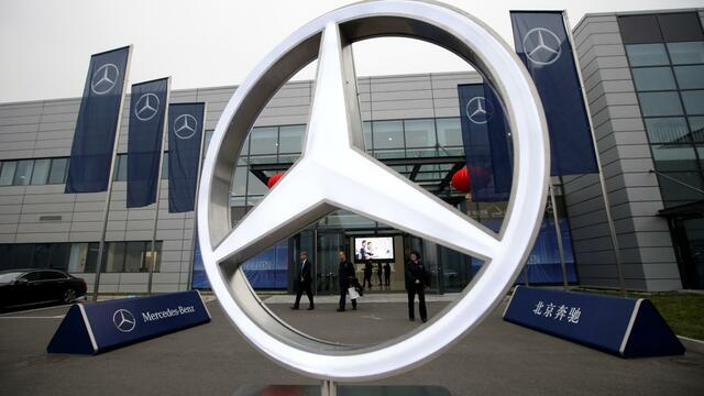 Milliarden-Investition:Daimler baut neue Fabrik für E-Autos in China