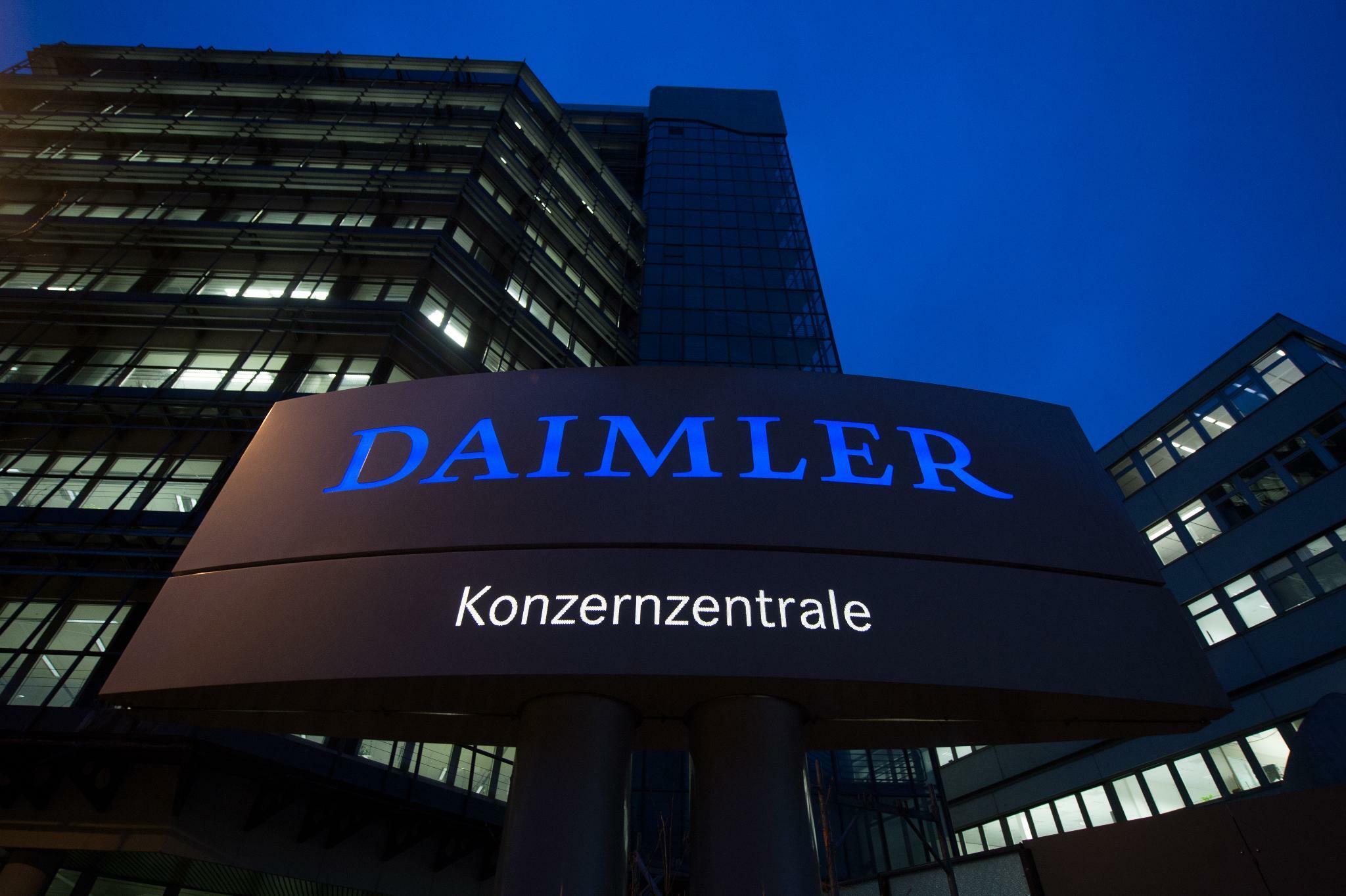 Dieselskandal: Daimler muss 870 Millionen Euro Bußgeld zahlen
