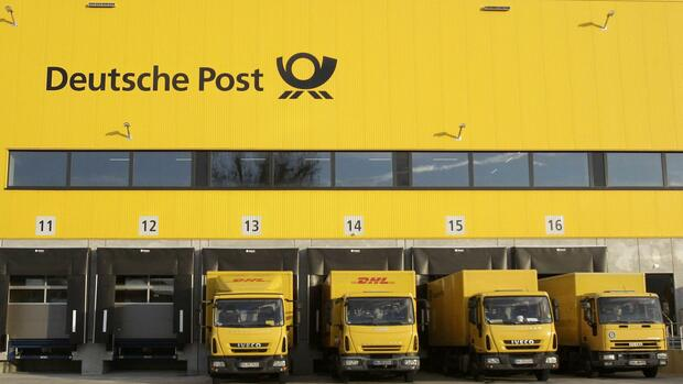 Paketzentrum der Deutsche Post DHL Quelle: REUTERS