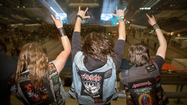 "Rockfestival ""Rock im Revier"" in der Veltins-Arena in Gelsenkirchen. Quelle: dpa/Picture-Alliance"
