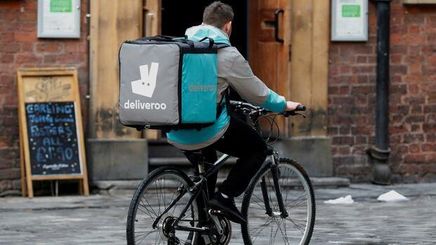 Amazon steigt bei Lieferdienst Deliveroo ein