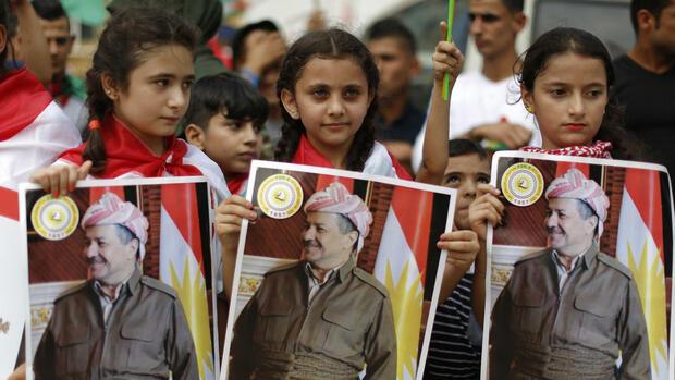 Nordirak: Zehntausende Kurden demonstrieren für Unabhängigkeit