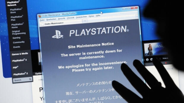 Der Sony Playstation Network Quelle: dpa