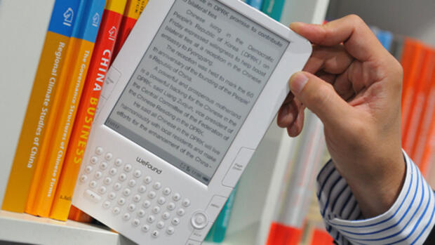 E-Book-Reader Quelle: dpa