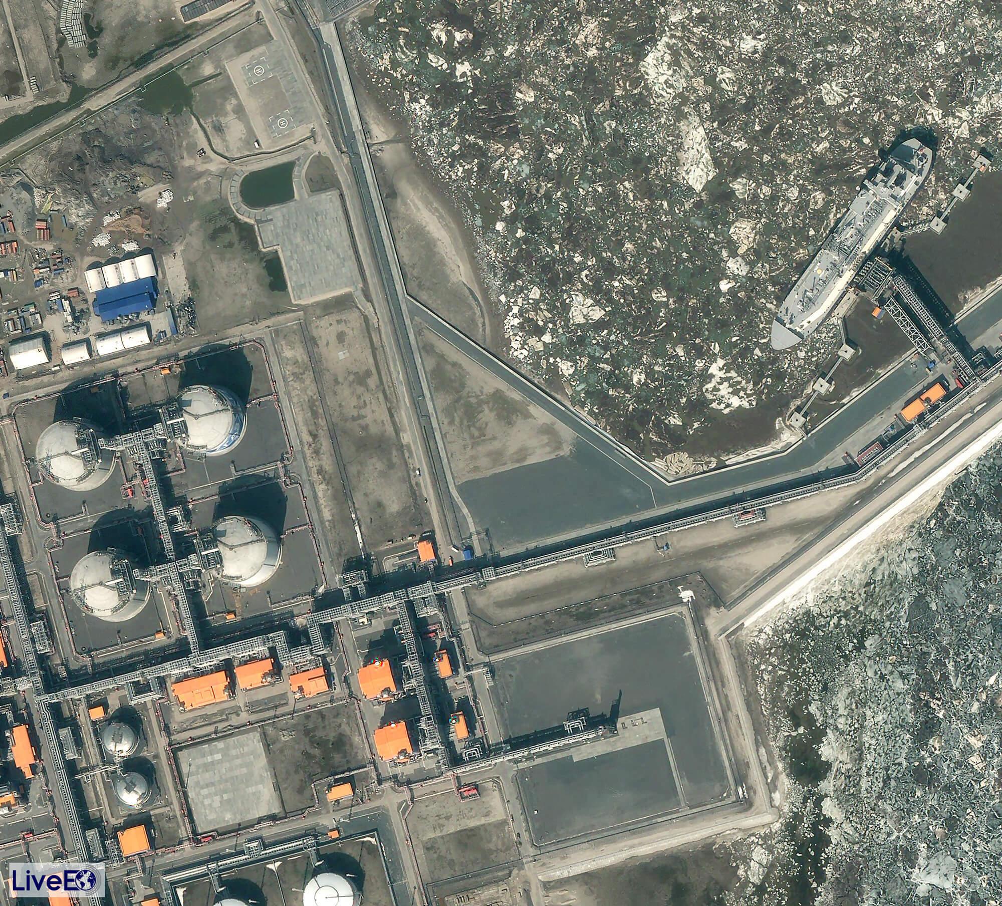 Hafen von Sabetta