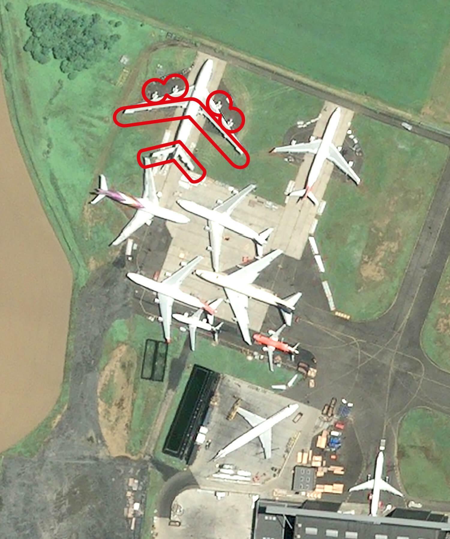 Am neuesten Schrottplatz recycelt die Airbus-Tochter Tarmac vor allem kleinere Propellermaschinen.