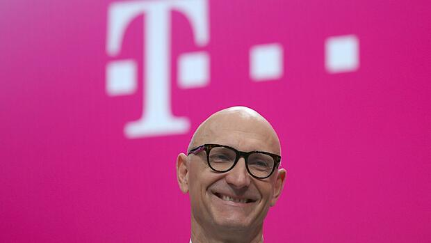 Telekom-Chef Tim Höttges. Quelle: dpa