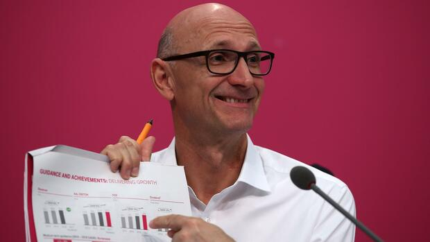 Telekom-Chef Tim Höttges Quelle: dpa