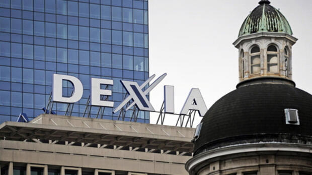 Dexia-Bank in Brüssel Quelle: dpa
