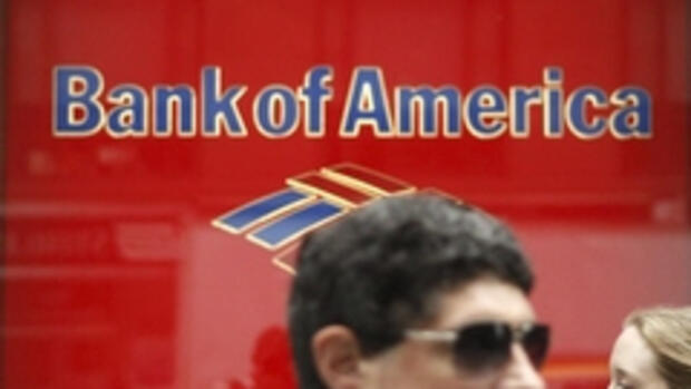 Die 'Bank of America' Quelle: REUTERS