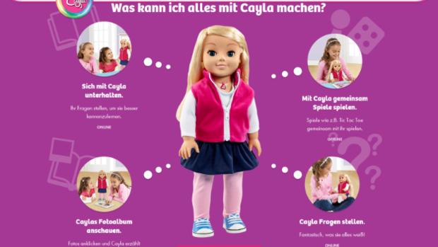 "Spielzeugpuppe ""Cayla"": Spionage im Kinderzimmer alarmiert ..."